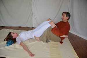 37. Sacral Lift with Feet